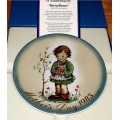 1983 Berta Hummel Schmid Mother's Day Collector Plate