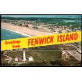 Fenwick, Delaware - Greetings From Aerial View
