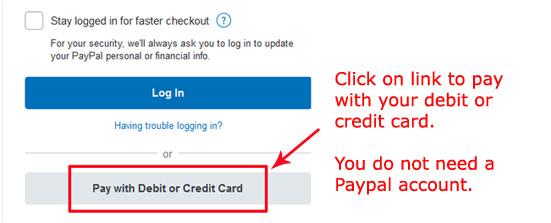 Credit Debit Card